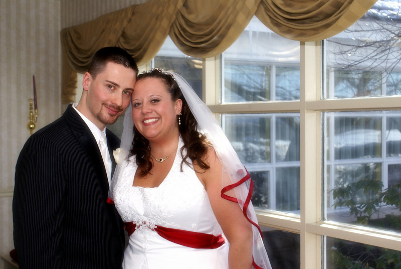 My wife Brandy and i.