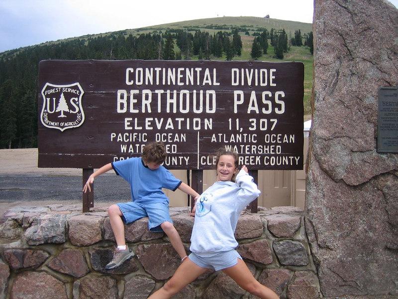 11,307 feet, Continental Divide, Berthoud Pass, Colorado
