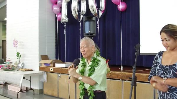 Toyoko's 100 Birthday Party - August 12, 2017