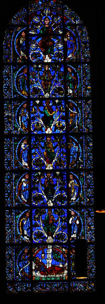 Chartres Cathedral, The Tree of Jesse