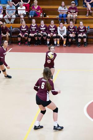 DA Varsity Volleyball vs CHA 10-09-18