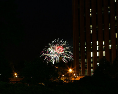 Fireworks 4th of July Umass 2005