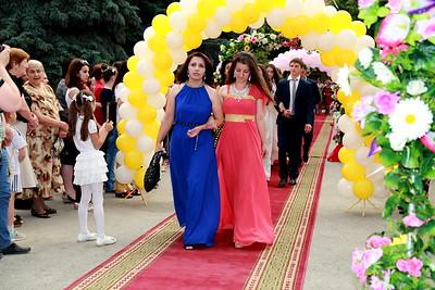 Prom in Tskhinval South Ossetia  2014