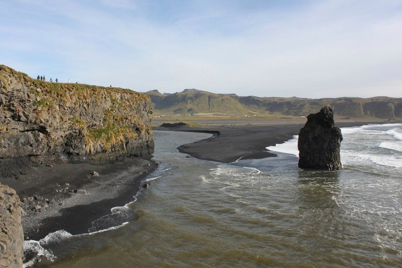 The view at Reynisfjara - photo by Ron R.