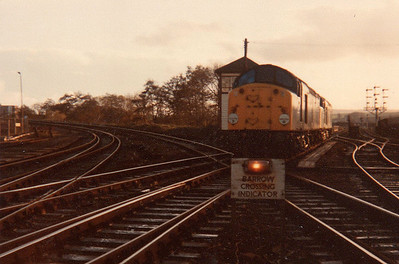 'Scanned Images' The Devon Quarryman' Railtour  24/11/84