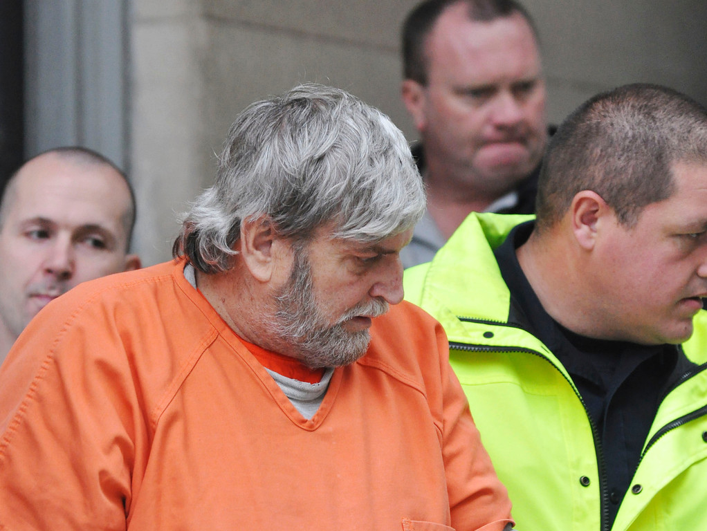 . David Casey appeared in Superior Court for arraignment on various charges, including murder, Thur Oct 13, 2011 (GARVER)