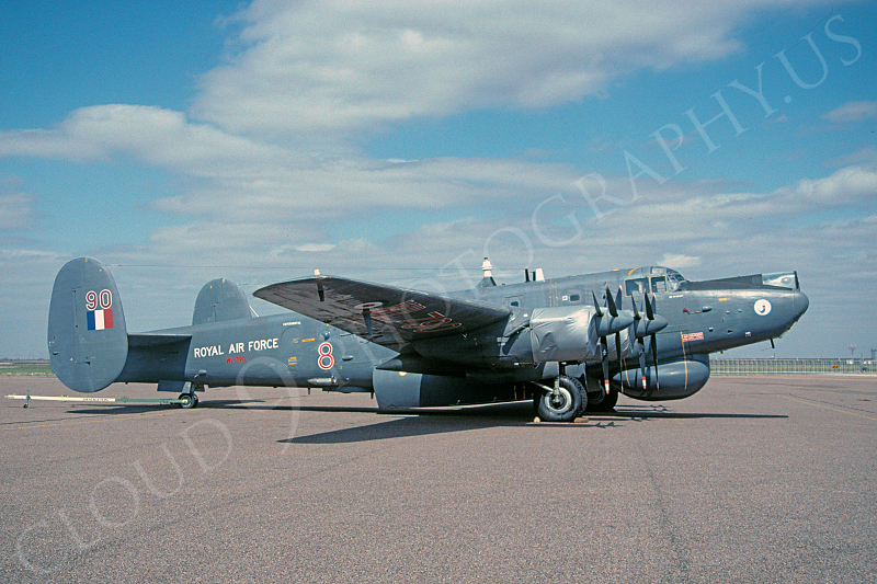 Avro Shackleton AEW2 00003 Avro Shackleton AEW2 British RAF WL790 27 March 2001 via African Aviation Slide Service .JPG