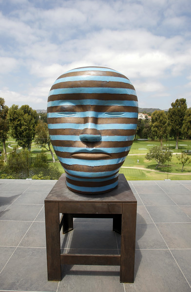 Stripey Sculpture