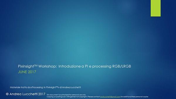 Pixinsight Basic Processing