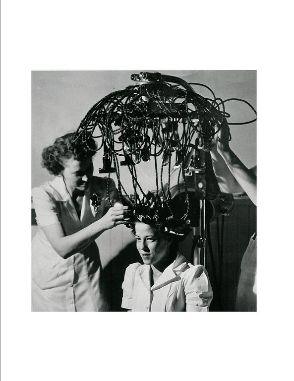. Cosmetology students at Emily Griffith Opportunity School. Denver Post Library photo archive