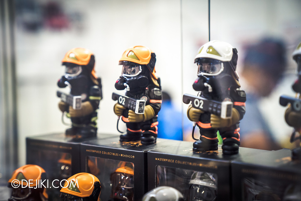 STGCC 2016 - Masterpiece Collectibles Firefighter