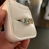 2.10ct Art Deco Peruzzi Cut Diamond Ring, GIA W-X SI2 41