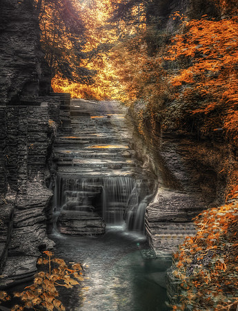 Robert H Treman & Wells Falls, Ithaca, NY