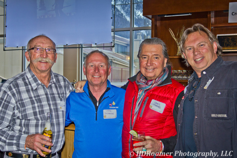 Jim, Joe Decker, Leon Littlebird, and me - Dave Evers - I took all these photos