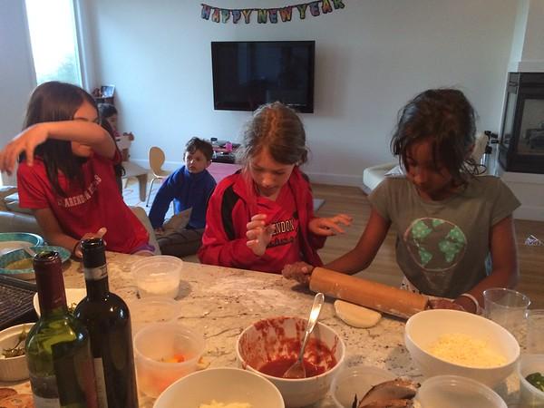 Clarendon Pizza party