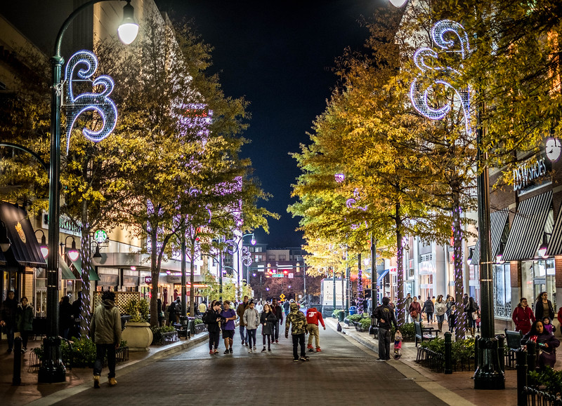 a busy night in silver spring