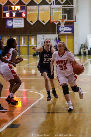 Girls JV Basketball v South County 12/18/18
