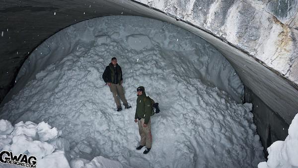 Snow Hiking at Mt Rainier