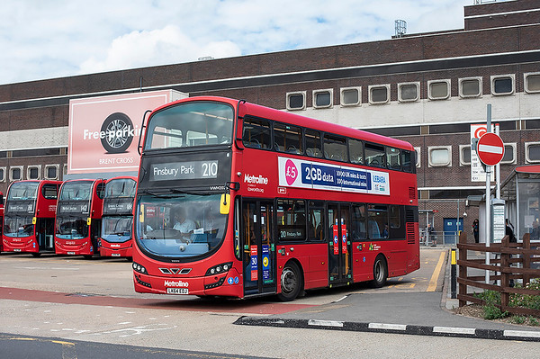 24th August 2020: Brent Cross and Hounslow