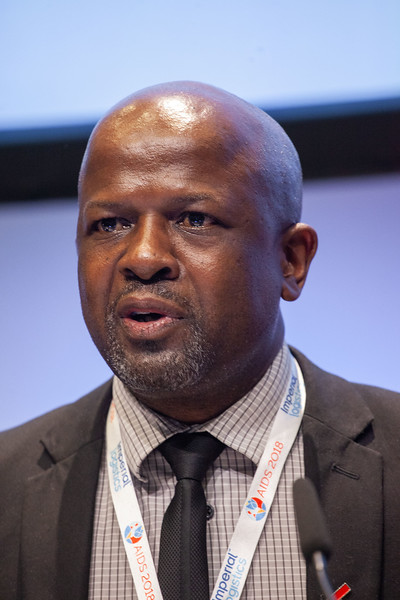 The Netherlands, Amsterdam, 22-7-2018. TB2018Discussion: The urgency of overcoming the bottlenecks to end TB and HIV David Mametja, South Africa National Department of Health, South Africa Photo: Rob Huibers for IAS. (Please publish always with complete attribution).