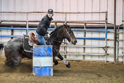 NSBRA Ho Ho Hold Your Horses Barrel Race