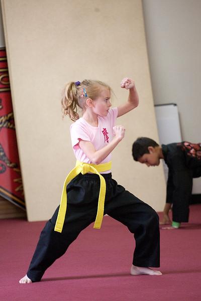 Karate Test 06-03-2001