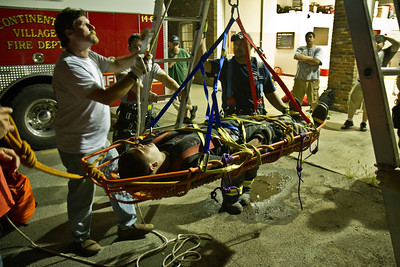 7-30-13 Rope Rescue Drill