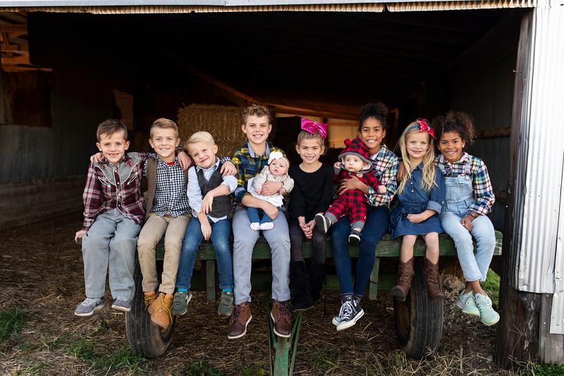 TAYLOR FAMILY | 2018