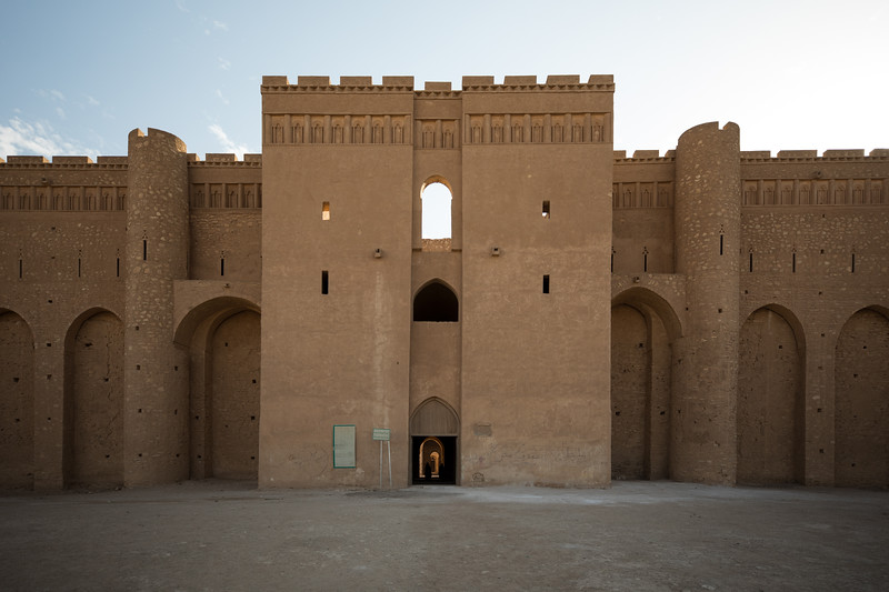 Situated ~50 kilometres west of the city of Karbala, Al-Ukhaidir Fortress was constructed during the 8th century and was an important stop on regional trade routes.