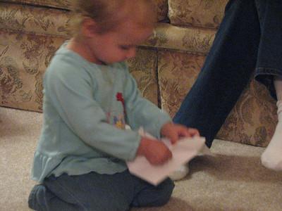 Kathryn's 2nd Birthday, Oct. 9, 2008