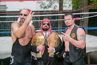 Gouge Wrestling-Maul-O-Ween match-10-28-12 Sadlacks Heroes Raleigh, NC
