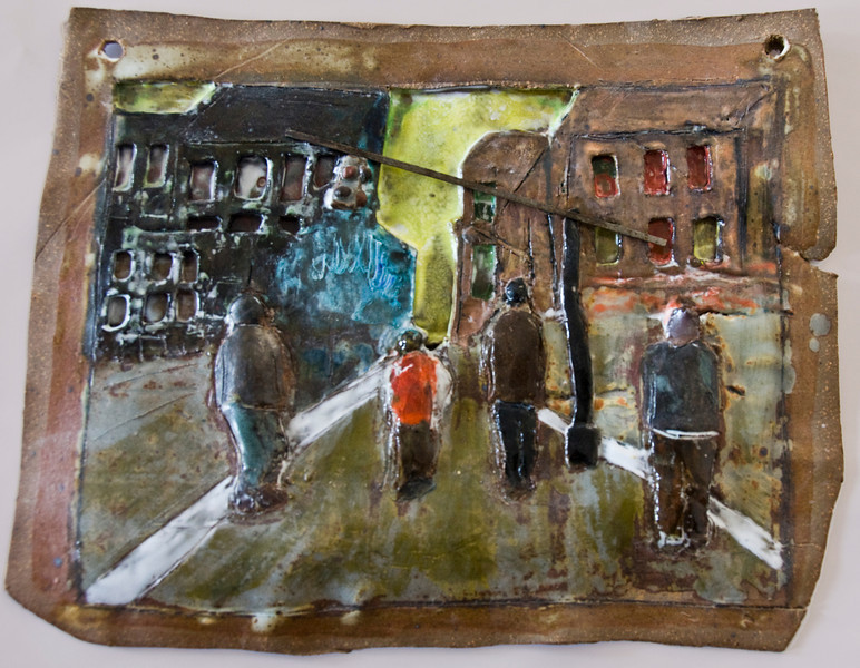 Street Crossing, Broooklyn