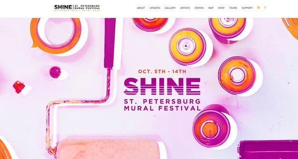 2017-10-5th-14th    St.Pete Fl Mural Festival
