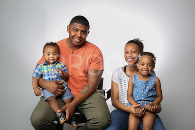 Eric Singletary and Kids