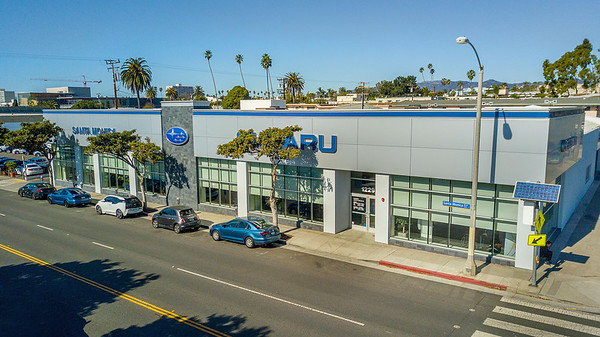 Subaru Santa Monica Dealership shoot Feb 2018