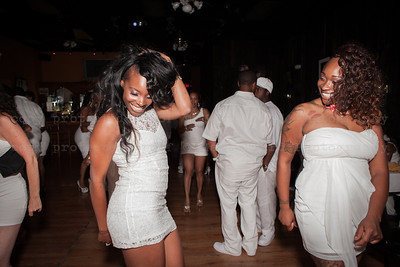 White Party Dancing