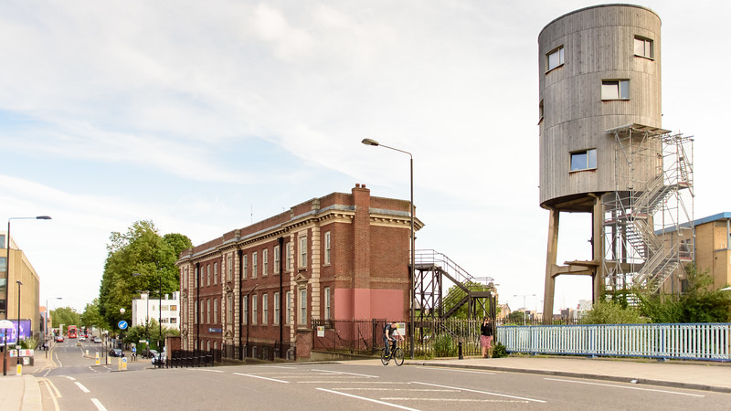 Tom Dixon's water tower house