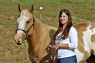 Blain and her Horse - Sept 19, 2009
