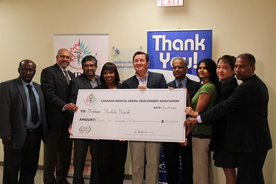 CMDDA Donation to the Markham Stouffville Hospital