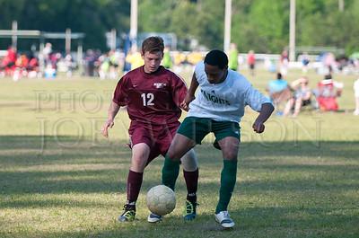 BC vs Windsor - JV Soccer  4/2/2012