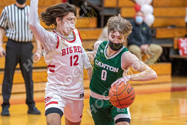 North Attleboro-Canton Boys Basketball - 02-12-21