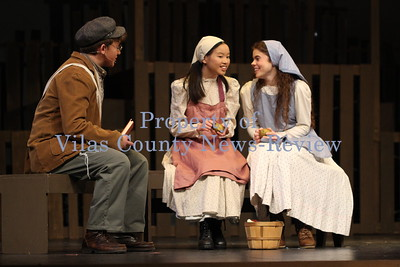 Northland Pines 'Fiddler on the Roof' Rehearsal