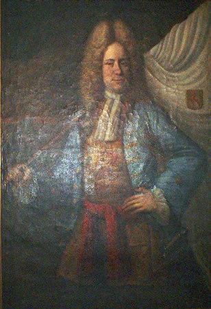 Van Hoey Portrait by Serin or Colasius