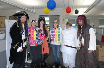 Halloween at Google 2007