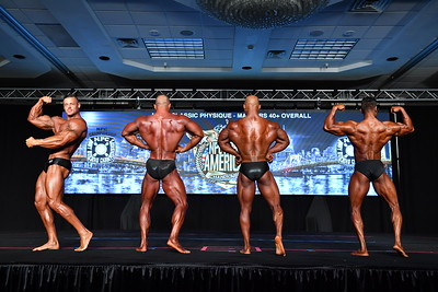 Men's Classic Physique Masters 40+ Overall