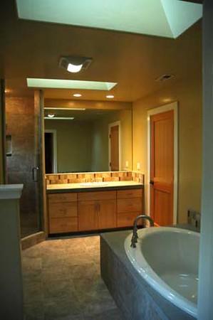 Curtis-Agur residence: master bath