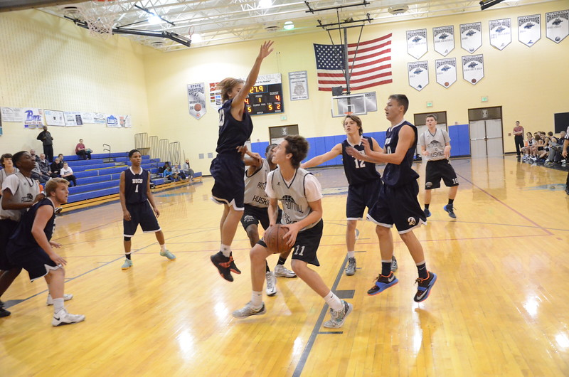 Varsity Boys Basketball Dec 2 Scrimmage
