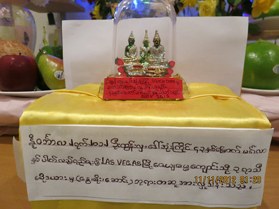 3seasons Buddha donation to Las Vegas C MM2012