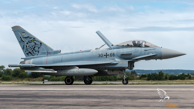 Luftwaffe TaktLwG 74 / Eurofighter / 30+66 / Tigermeet 2019 Livery