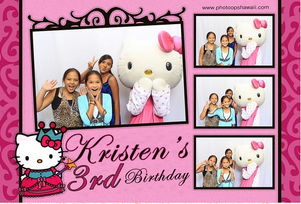 Kristen's 3rd Birthday (Fusion Portraits)